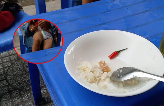 """Đang ăn cơm thì bị mẹ trẻ sà vào thay bỉm cho con, chàng trai đăng đàn chỉ trích """"không lẽ tôi úp tô cơm vào bản mặt người đó"""""""