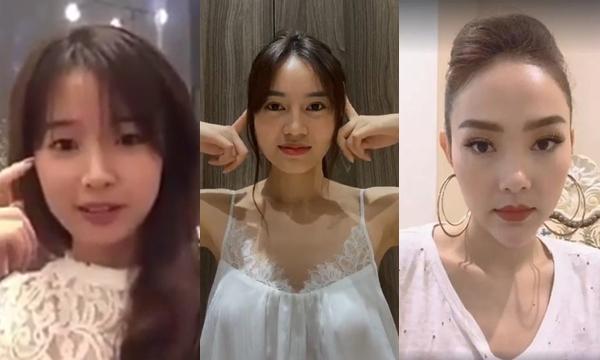 Mỹ nhân Việt đọ nhan sắc livestream: Ninh Dương Lan Ngọc đẹp bất chấp cam thường, Minh Hằng để lộ mặt thẩm mỹ cứng đơ