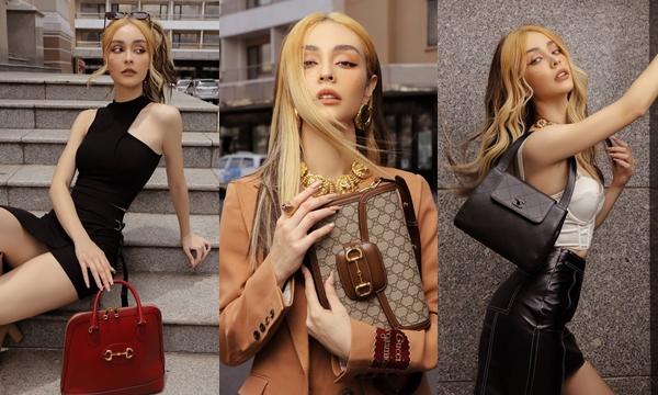 Tái xuất showbiz, Mlee thả dáng đầy đẳng cấp cùng loạt túi hiệu đắt đỏ