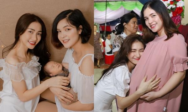 Nhan sắc vốn xinh đẹp sắc sảo, Hòa Minzy lại có chị gái trẻ trung, tươi tắn không kém
