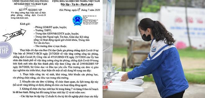 4 tỉnh thành quyết định cho học sinh nghỉ học hè để phòng chống dịch Covid-19