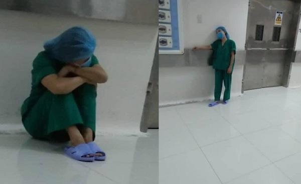 Giấc ngủ y bác sĩ ngày dịch về: Đâu cần chăn ấm nệm êm, chỉ cần vài phút chợp mắt ngoài hành lang là ổn rồi!