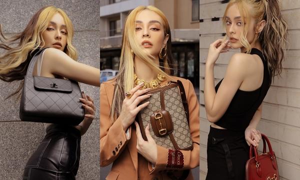 """Bóc giá bộ sưu tập túi hiệu trong bộ ảnh mới của Mlee: Chiếc """"sương sương"""" nhất cũng phải tầm 50 triệu đổ lên"""