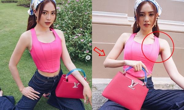 Khoe street style trendy quyến rũ, Ninh Dương Lan Ngọc lại khiến fan hốt hoảng vì diện mạo hốc hác khẳng khiu