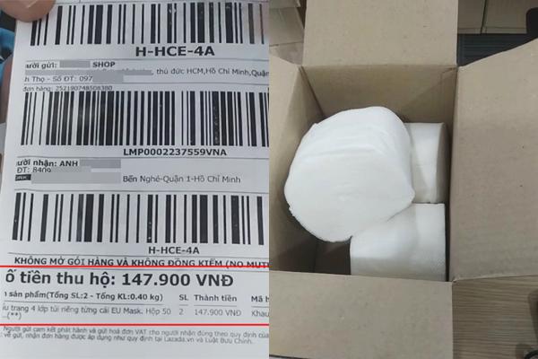 Chuyện chống dịch mùa covid: Chàng trai số nhọ đặt mua khẩu trang qua mạng khóc ròng khi nhận về toàn giấy vệ sinh
