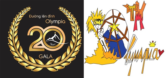 """Cuộc thi thiết kế logo gala 20 năm Đường lên đỉnh Olympia """"ra lò"""" loạt tác phẩm từ sang chảnh, ngộ nghĩnh tới hài hước"""