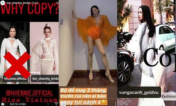 """Loạt mỹ nhân Việt bị """"tố"""" mặc đồ nhái: Người bị chỉ thẳng mặt, người """"dằn mặt"""" ngược lại"""