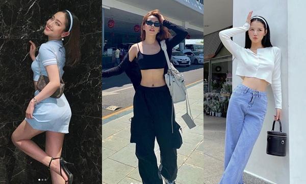 Muôn vàn style diện crop top của mỹ nhân Việt: Chi Pu sporty khỏe khoắn, Amee tiểu thư trendy