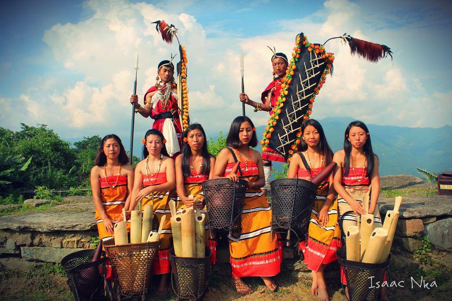 Bộ ảnh hiếm có về bộ lạc Inpui Naga ở đông bắc Ấn Độ hé lộ văn hóa bản địa vô cùng độc lạ