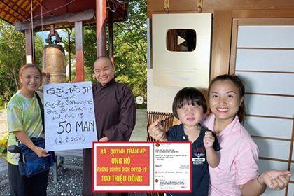 Từ Nhật Bản, Quỳnh JP ủng hộ hơn 100 triệu đồng với lời nhắn: Cùng quê hương chống dịch