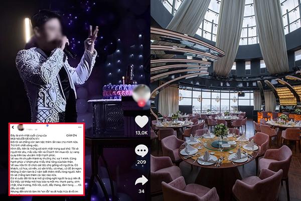 """Chi 750 triệu tổ chức sinh nhật giữa tâm dịch nhưng khách không đến, chủ tiệc """"cay cú"""": """"Đây là sinh nhật cuối cùng"""""""