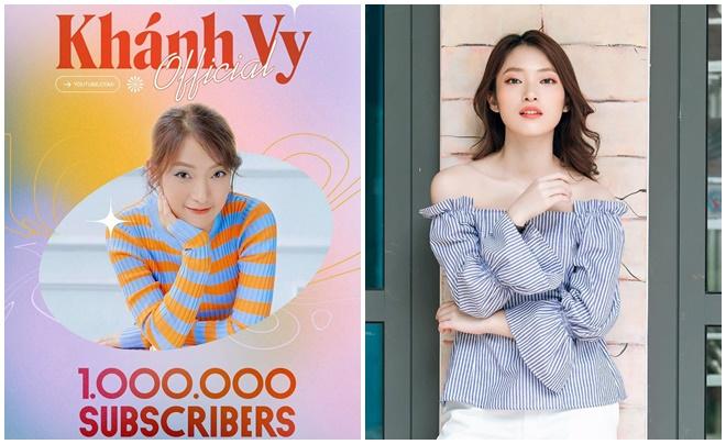 Khánh Vy lại gây sốt khi tốt nghiệp ĐH bằng giỏi đúng lúc kênh Youtube cán mốc 1 triệu subscriber