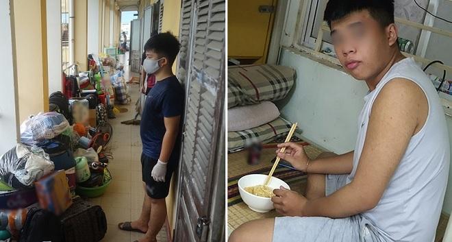 Khoảng 2.000 sinh viên tại Đà Nẵng đang ở KTX ăn mì qua ngày