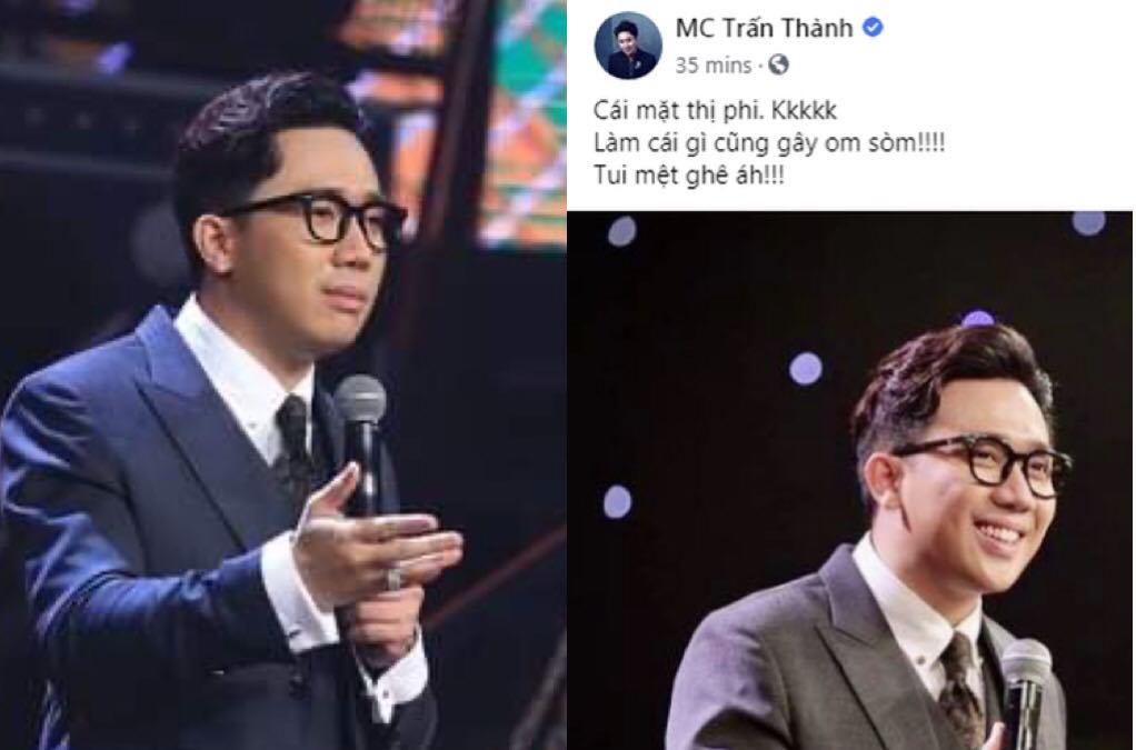 """Động thái mới nhất của Trấn Thành xoay quanh Rap Việt: """"Chắc mặt thị phi nên làm gì cũng gây om sòm"""""""