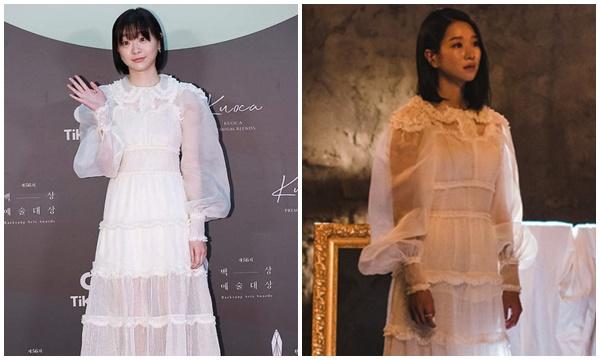 """Cùng diện váy nhà mốt Fendi, Seo Ye Ji sang bao nhiêu """"Điên nữ Itaewon"""" lại bị dìm bấy nhiêu"""