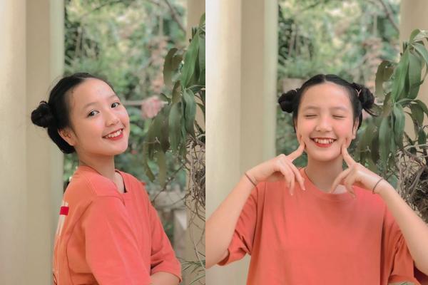 """Nữ sinh 2k8 gây sốt với nụ cười răng khểnh """"tỏa nắng"""" cùng vẻ ngoài như """"người em thất lạc"""" của ca sĩ Amee"""