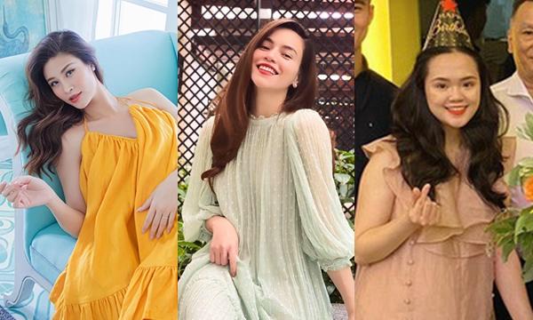 """Té ngửa trước những cái """"nhất"""" không tưởng của loạt mẹ bầu hot hit showbiz Việt"""