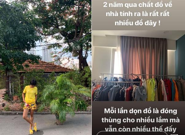 """H'Hen Niê khoe """"sạp"""" đồ hiệu như bày bán ngoài chợ, tiết lộ giày đại đa số được tặng, 4 đôi mua sale với nhà làm gì có tủ!"""