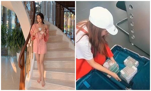 """Bạn gái tin đồn của Ngô Kiến Huy tiết lộ gây tranh cãi: """"Có tháng, tôi kiếm đủ tiền mua được cả một căn nhà"""""""