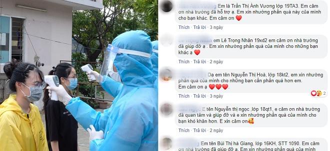Hàng trăm sinh viên Đà Nẵng nhường suất hỗ trợ chống dịch cho người có hoàn cảnh khó khăn hơn mình