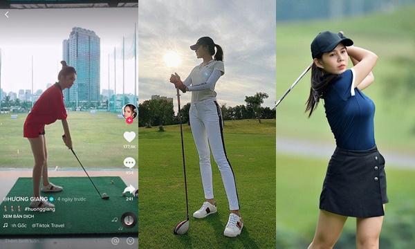 """Style chơi golf của dàn mỹ nhân Việt: ai cũng chỉn chu kín cổng cao tường, riêng Hương Giang vẫn một mình một """"đẳng cấp"""""""