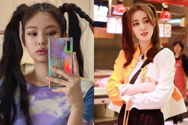 Khi Jennie - Địch Lệ Nhiệt Ba so kèo visual, đụng từ trang phục đến kiểu tóc khiến netizen cân não vì không biết ai đẹp hơn?