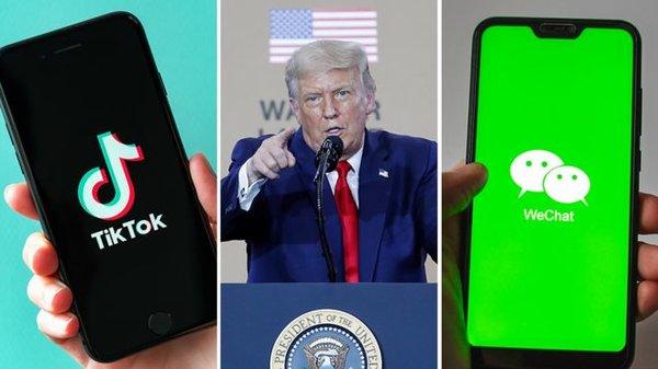 """""""Hạ đo ván"""" TikTok, tại sao ông Trump còn cấm thêm cả WeChat?"""