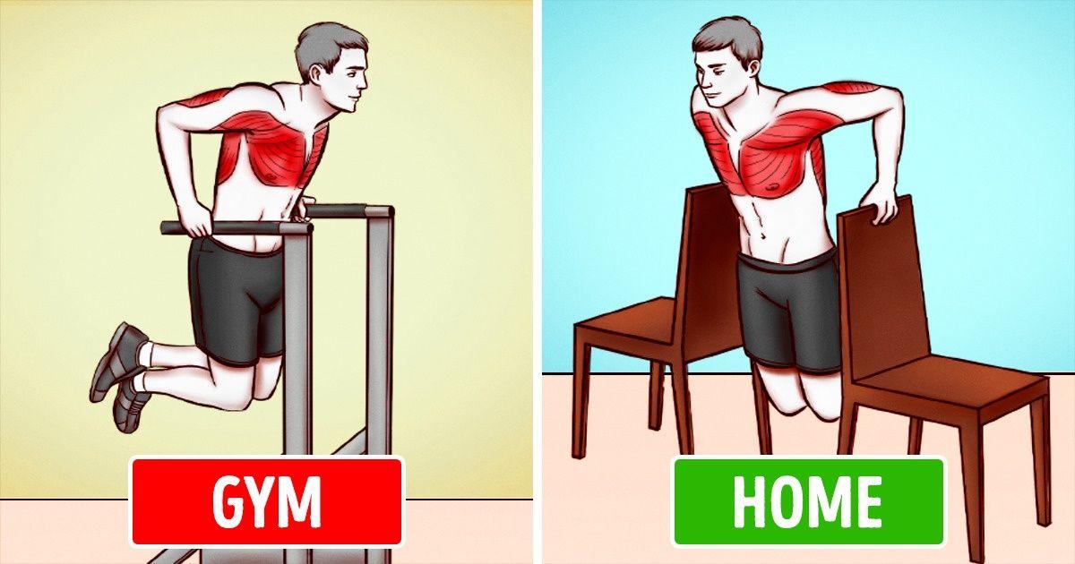6 bài tập ở nhà đơn giản mà hiệu quả không kém gì đi tập gym