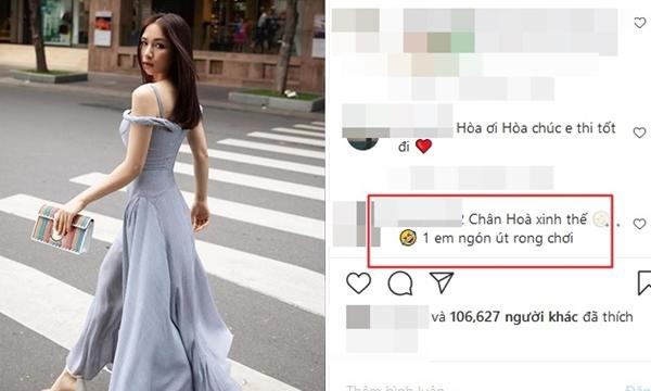 """Diện váy 2 dây """"sống ảo"""": Khen còn chưa xong, Hòa Minzy đã bị fan soi ngay lỗi """"kém duyên"""""""