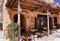 Nhập gia tuỳ tục: Tiệm Starbucks 'mái lá