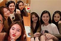 Hương Giang lộ diện mắt sưng đỏ hoe, hội chị em Hari Won an ủi: