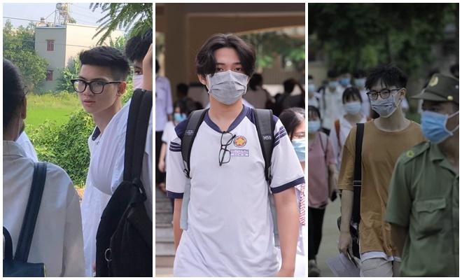 Hàng loạt trai đẹp mới nổi được hội chị em lùng ra ở khắp các điểm thi tốt nghiệp THPT 2020
