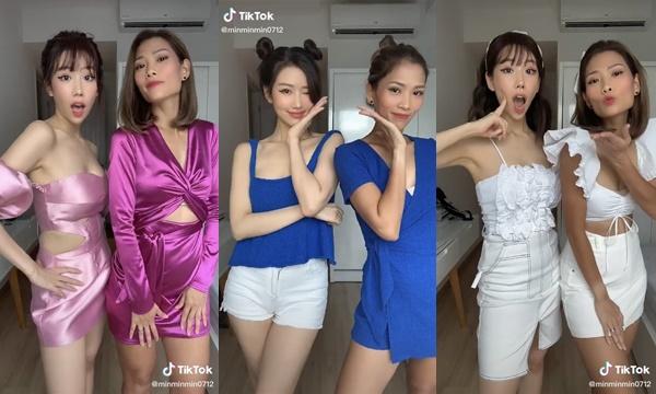 Học tập Min cùng chị gái diện đồ đôi 7 sắc cầu vồng xuyên mùa dịch chẳng hề nhàm chán