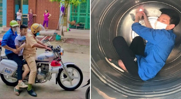 """Nam sinh ngủ quên được CSGT phá cửa đưa đi thi kịp thời là người sáng chế """"ATM gạo học đường"""" ở Lào Cai"""