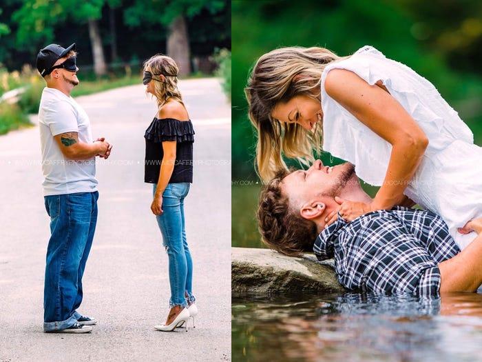 Chụp ảnh hẹn hò giấu mặt: Hai người xa lạ vừa chụp buổi đầu đã trao nhau nụ hôn nồng cháy rồi hẹn nhau chụp tiếp