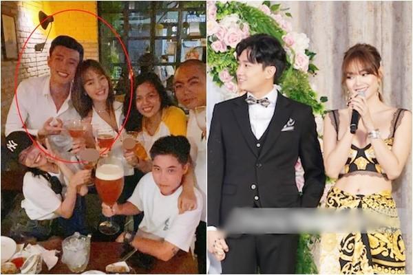 Lộ ảnh Minh Hằng vai kề vai Quốc Trường trong đêm muộn, thân thiết như đang yêu
