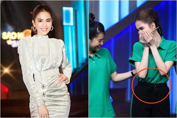 """Tham gia gameshow, Ngọc Trinh chơi chiêu """"hack dáng"""" chặt đẹp cả hội chị em"""
