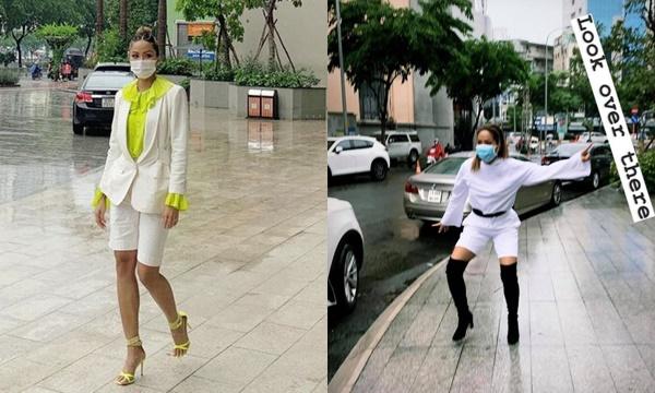 """Thời trang mùa dịch của H'Hen Niê bị fans chê """"lên bờ xuống ruộng"""", yêu cầu đổi stylist ngay lập tức"""