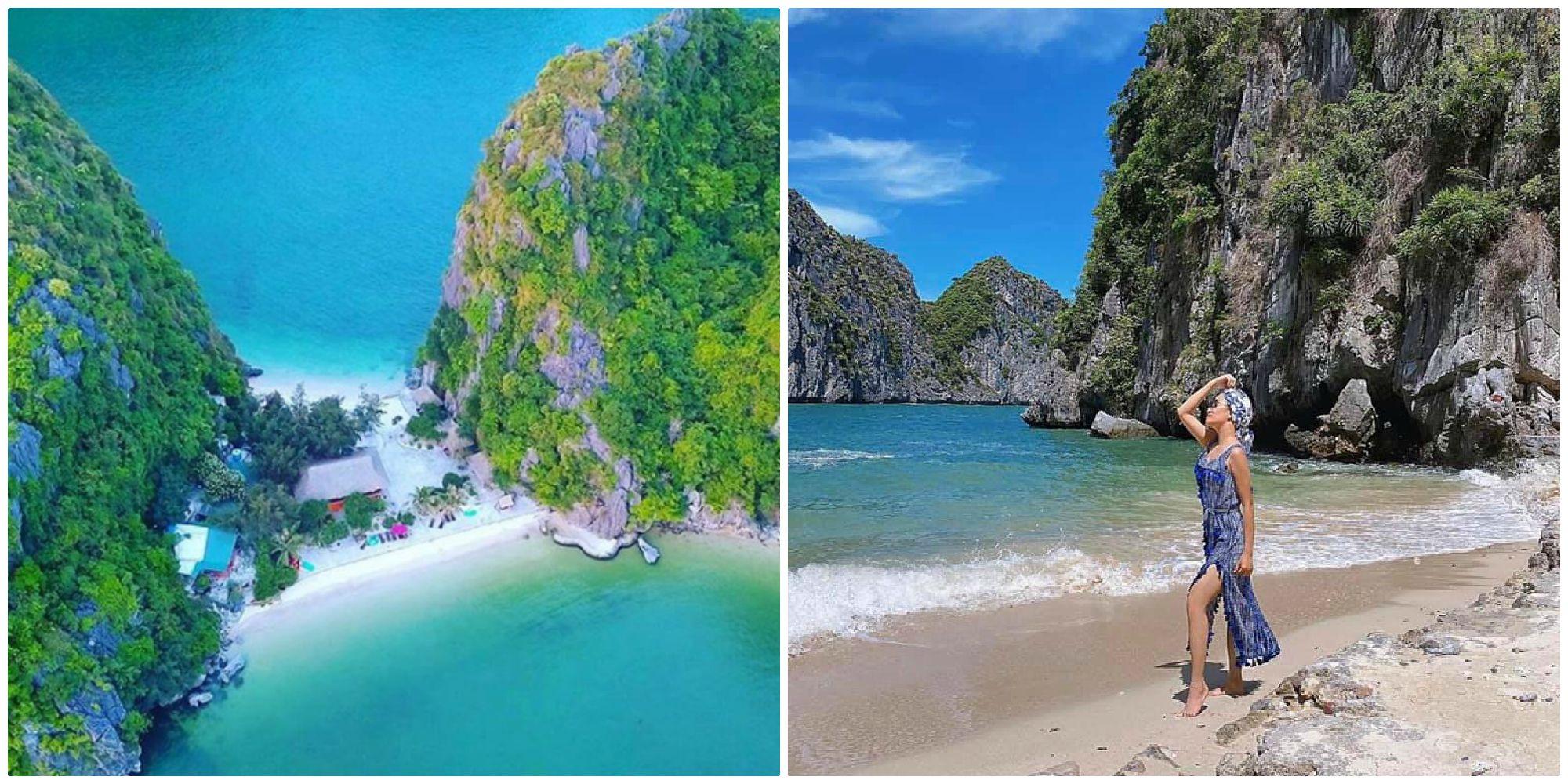 """Phát hiện Hòn đảo sở hữu 2 mặt biển đẹp """"thần sầu"""" ít người biết ở Việt Nam"""