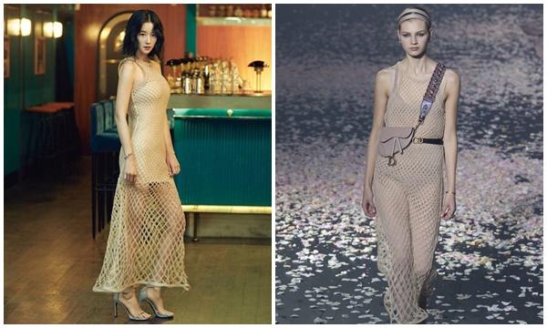 """Chẳng phải đợi đến thời, té ra Seo Ye Ji đã """"chặt đẹp"""" nguời mẫu Dior từ hơn 1 năm trước nhờ vẻ đẹp sang hơn người"""