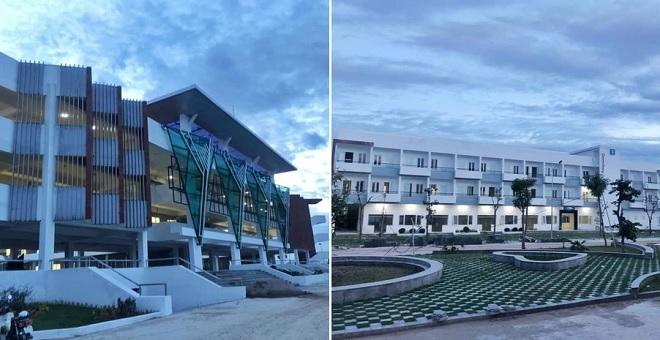 """Ngỡ tưởng resort 5 sao trước loạt ảnh """"siêu ảo"""" của trường chuyên Lương Văn Tụy, Ninh Bình"""