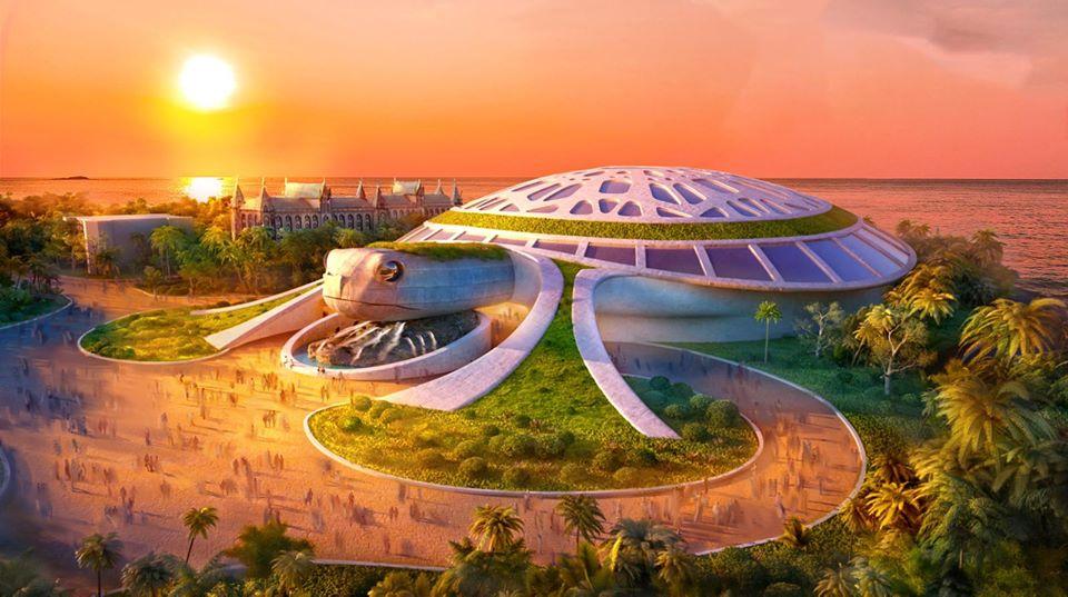 Lót dép hóng Thuỷ cung Kim Quy siêu hoành tráng sắp xuất hiện ở Phú Quốc