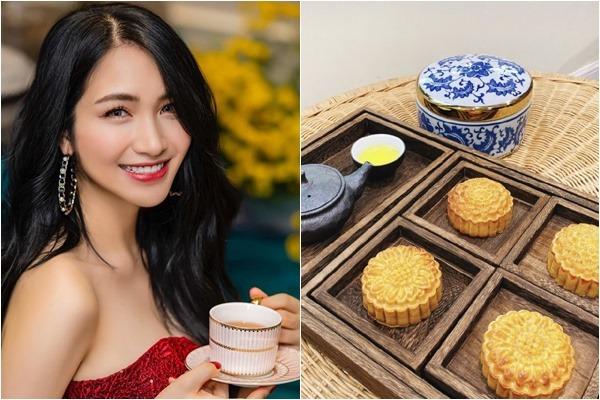 Sắp tới Trung thu, Hòa Minzy mải miết sáng tạo công thức làm bánh, nhìn thấy mê