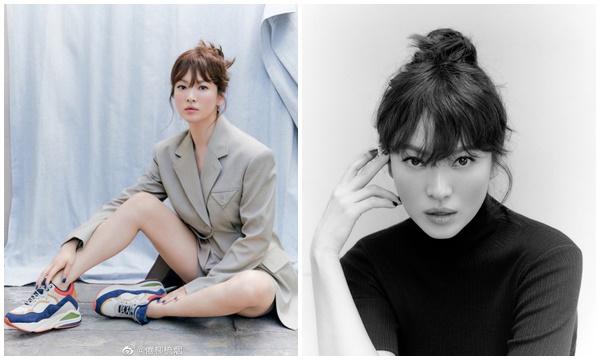 """Liên tục bị chê xấu, Song Hye Kyo tung bộ ảnh lấy lại phong độ, thần thái vô cùng """"ổn áp"""""""