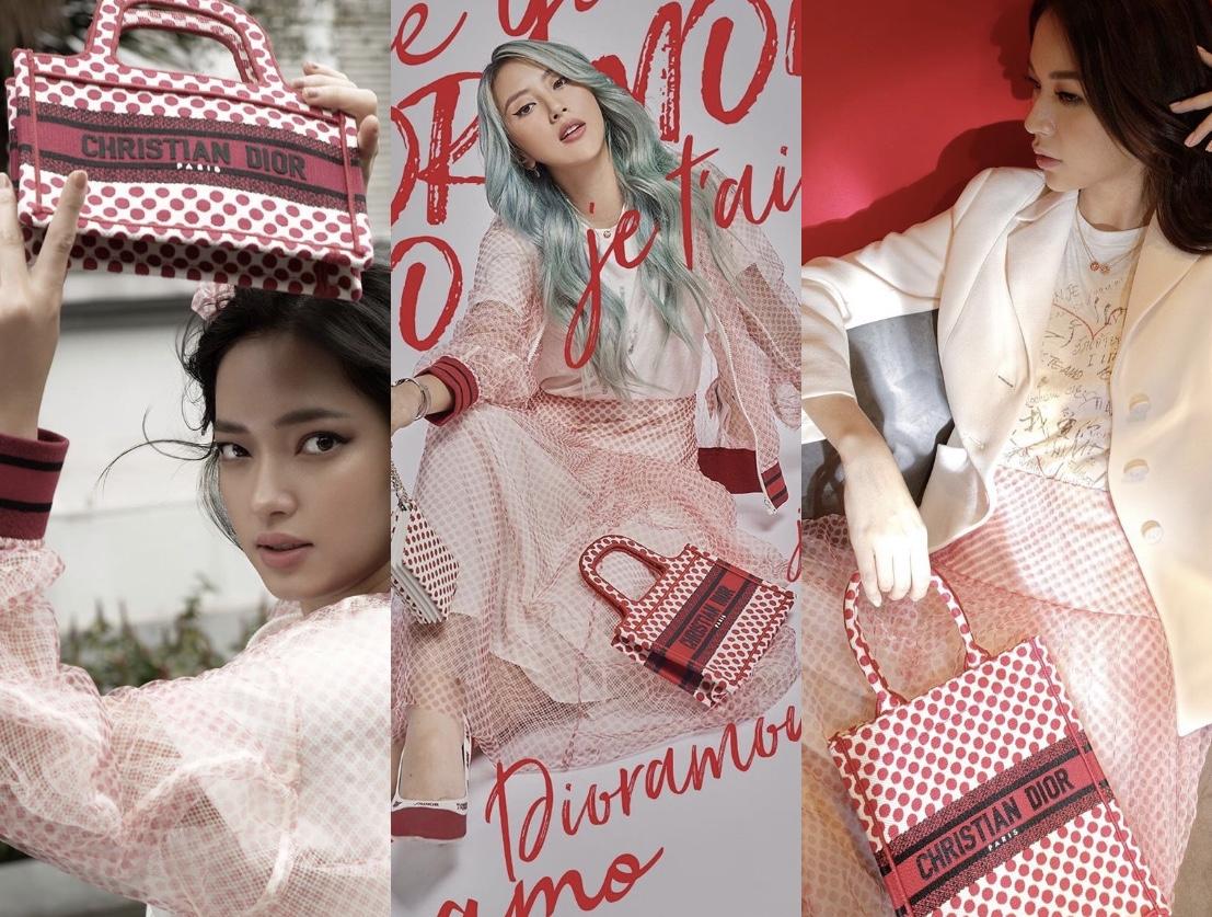 Chiếc túi Tote Dior đỏ có gì mà phủ sóng hết instagram Quỳnh Anh Shyn, Châu Bùi, Salim... cho đến Phí Phương Anh