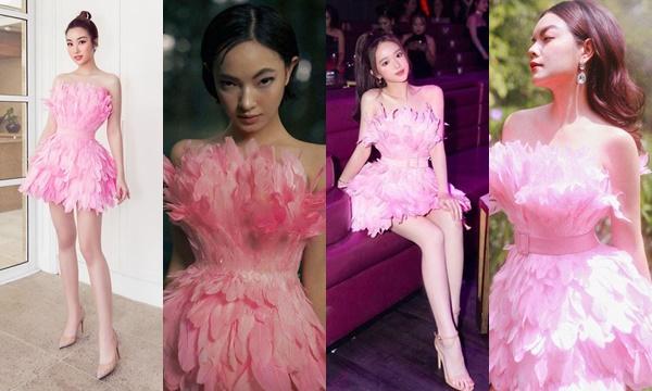 Đụng hàng từ hoa hậu đến fashionista, Linh Ka vẫn chẳng hề lép vê