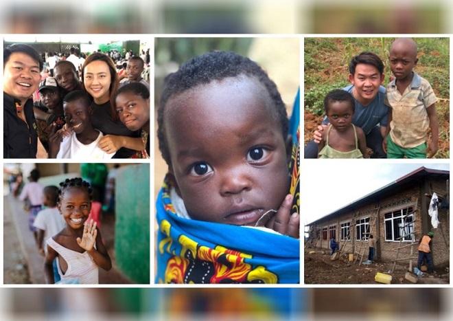 """Covid-19 cũng không thể ngăn cặp vợ chồng này """"xây dựng hy vọng"""" cho những người khốn khổ ở châu Phi"""