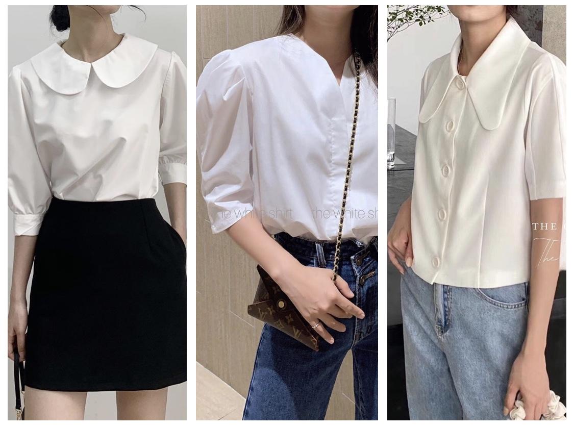 3 mẫu áo trắng nâng tầm trang phục cho mọi cô nàng công sở
