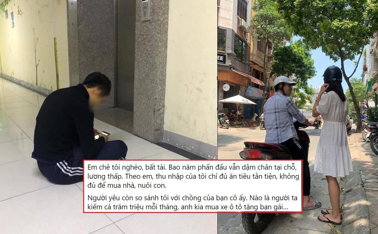 """Nhà Hà Nội, lương 20 triệu/tháng, chàng trai vẫn bị bạn gái đá: """"Em chê nghèo, bất tài, thu nhập chỉ đủ ăn tiêu tằn tiện"""""""