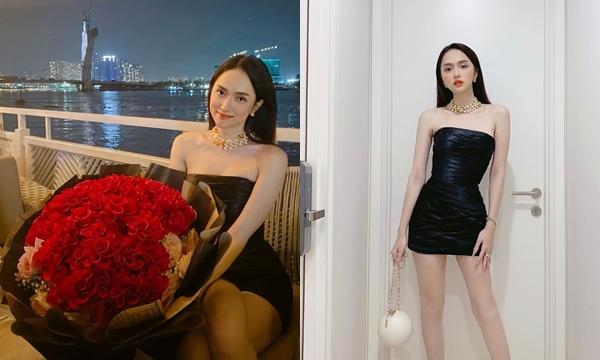 Bóc giá set đồ bạc tỷ của Hương Giang trong ngày kỉ niệm 2 tháng yêu nhau với CEO người Sing